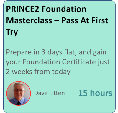 PRINCE2 Foundation Foundation