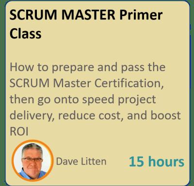 SCRUM Masterclass Scrum