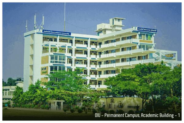 daffodil international university Permanent Campus