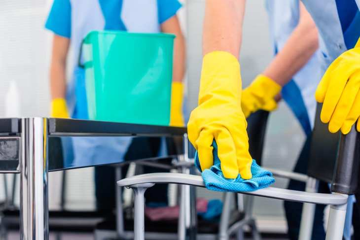 commercial cleaners help efficiency