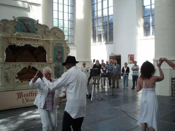 Leidse Draaiorgeldag: draaiorgels, accordenonisten, dansworkshops zang en de Cubaan!