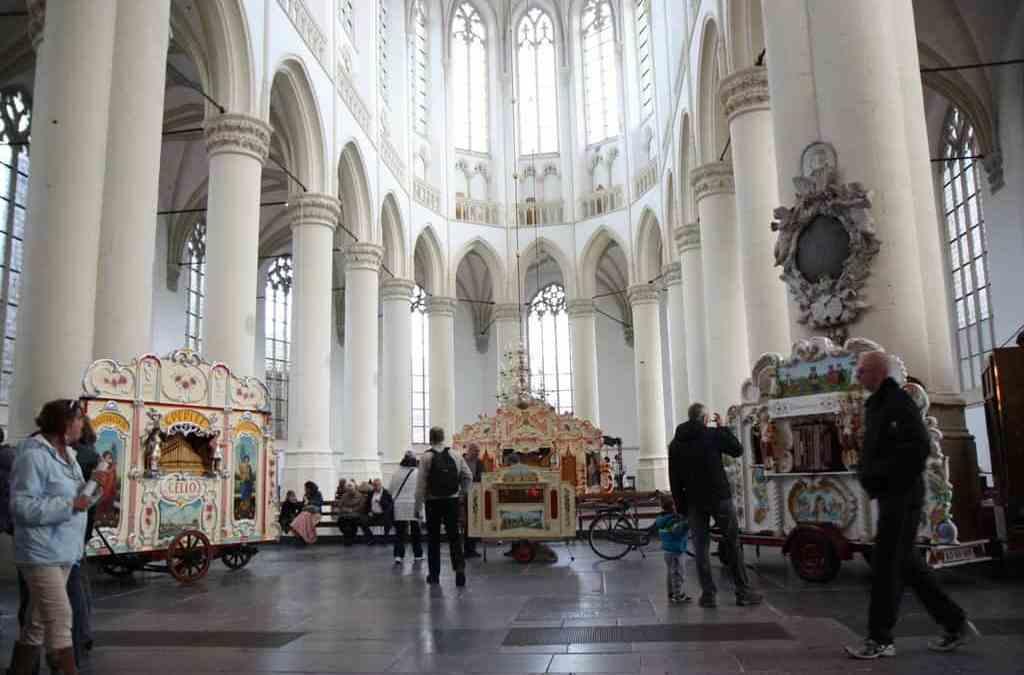 16e Leidse Draaiorgeldag in Hooglandse kerk