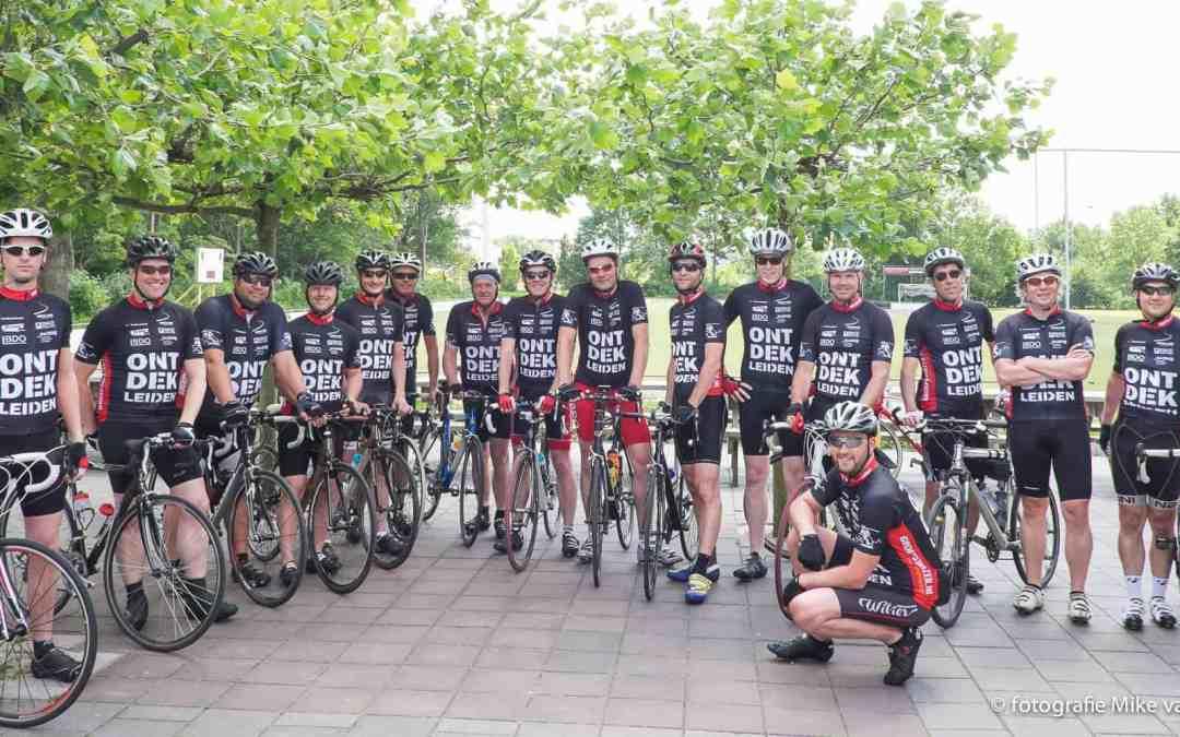 ONTDEK Leiden wielershirt dit jaar in zwart!