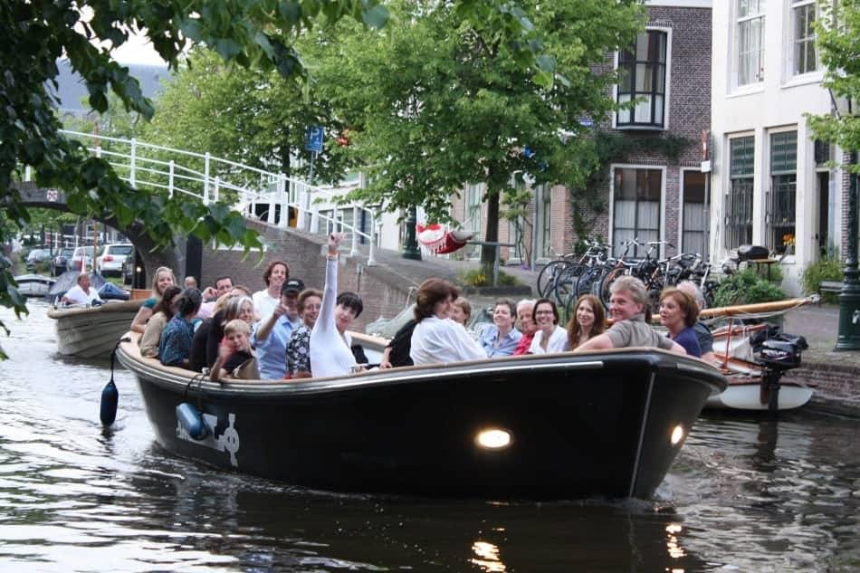 Bootje Aap Leiden – rondvaart