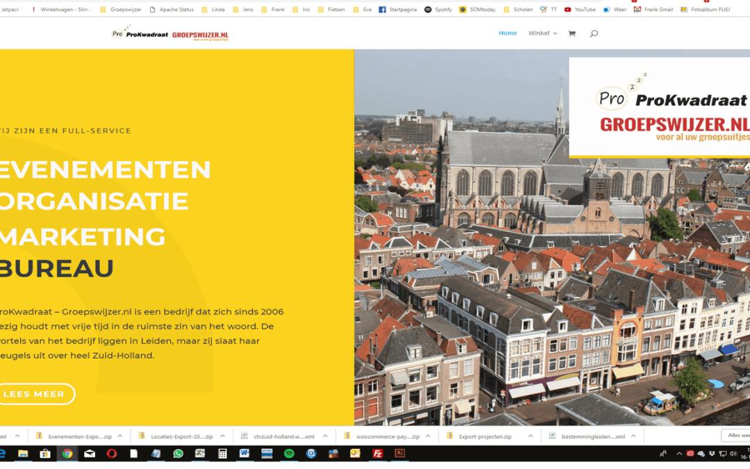 Nieuwe website voor ProKwadraat-Groepswijzer.nl