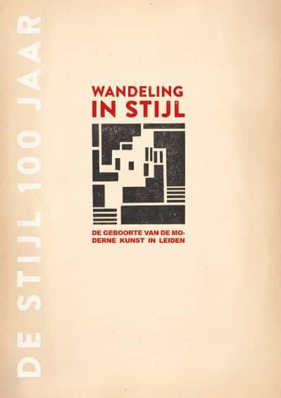Alles over De Stijl in Leiden in één wandeling