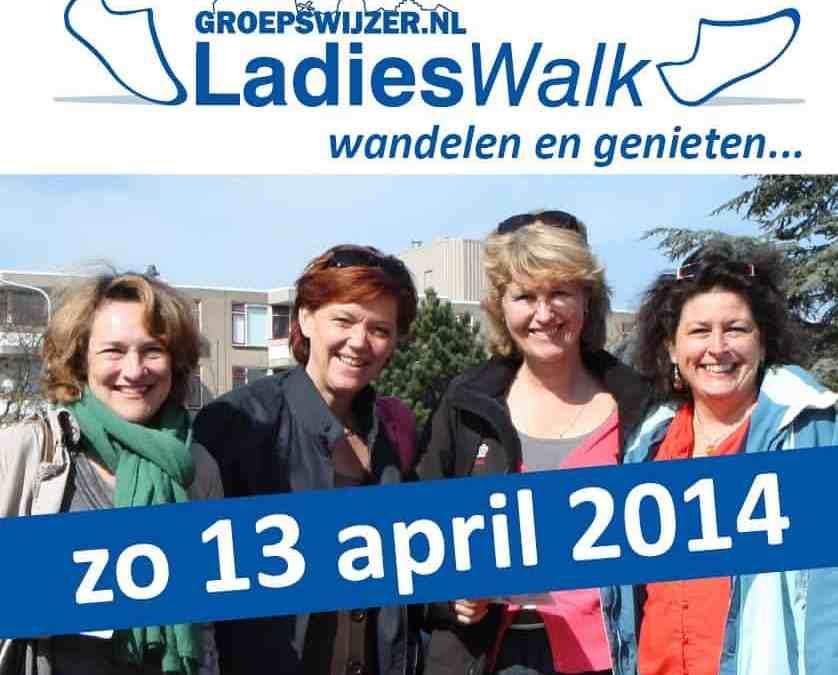 Start Groepswijzer.nl LadiesWalk bij Museum Volkenkunde