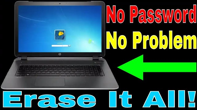 How To Hard Reset Hp Laptop Without Password - Pro Laptop Club
