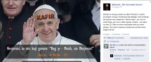 Papa Françesko ne rrezik