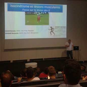 Cours Facultés des sports de Montpellier STAPS