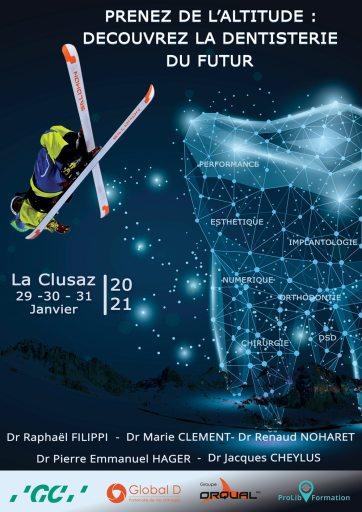 Conference multidisciplinaire dentaire La Clusaz 2021