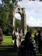 Friar at Abbey