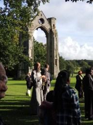 Friar at Abbey