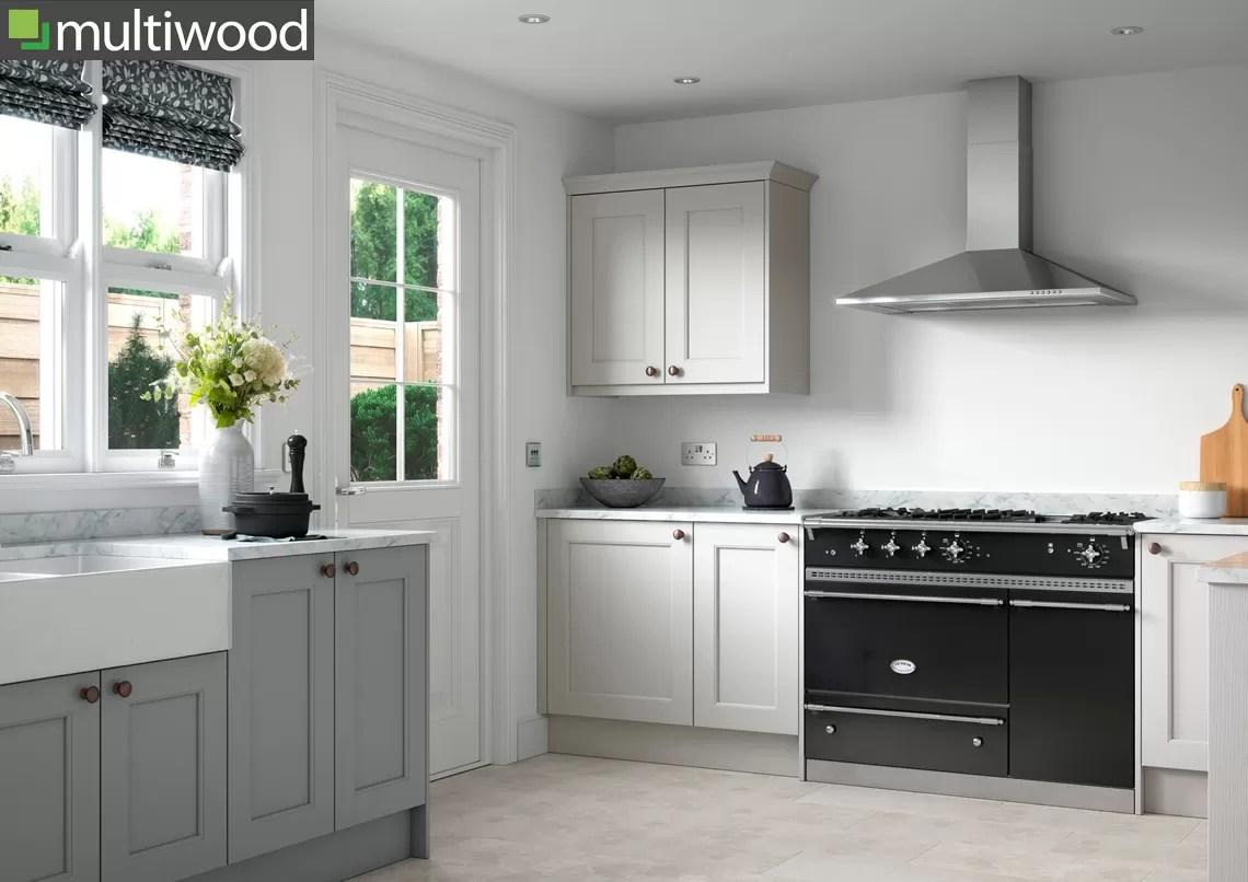Multiwood Allestree Luna & Light Grey Kitchen