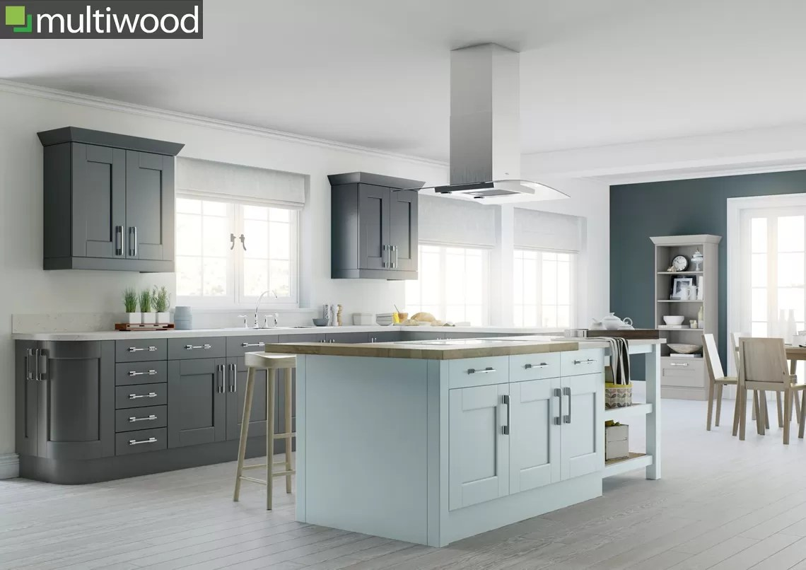 Multiwood Bowfell – Mineral & Slate Kitchen