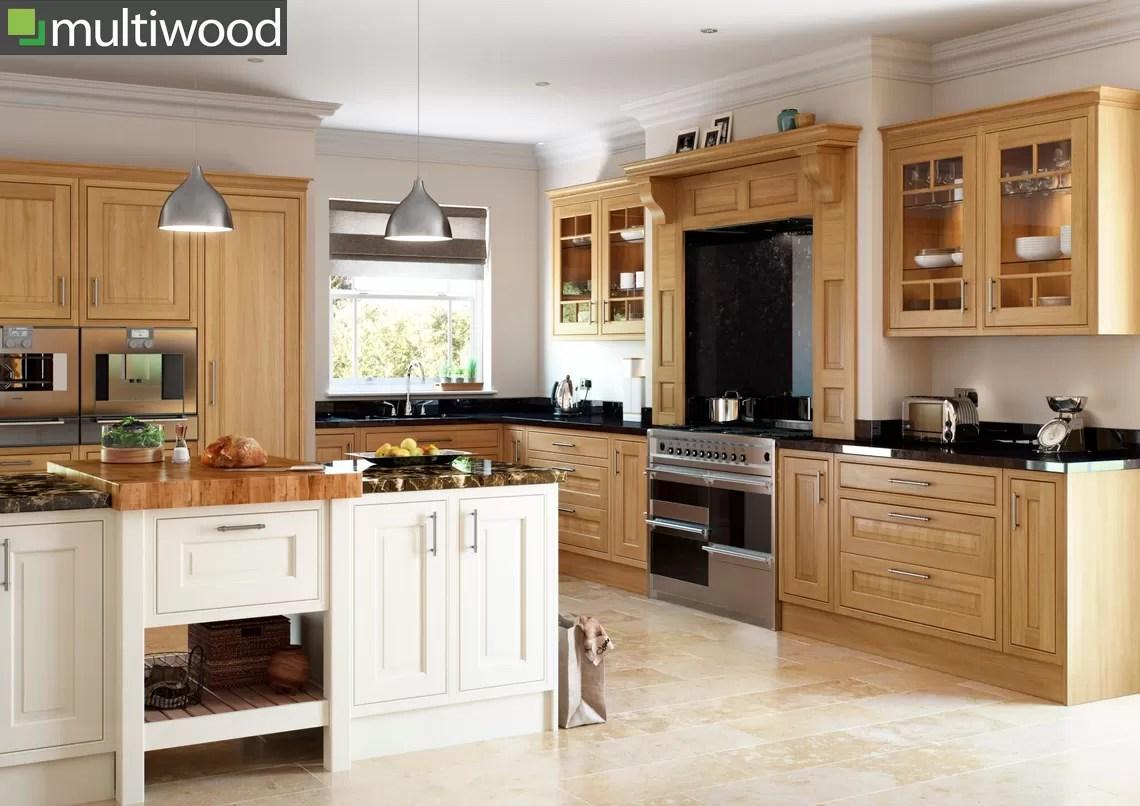 Multiwood Eildon Oak Kitchen