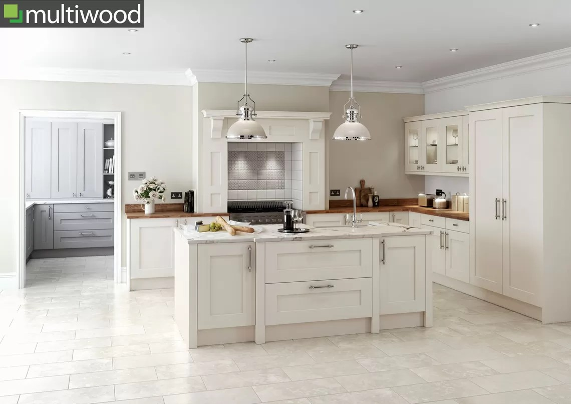 Multiwood Rivington Cream Kitchen