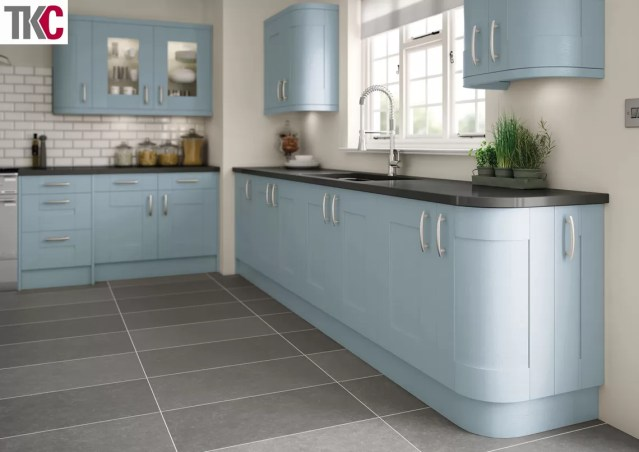 TKC Cartmel Hand Painted Denim Kitchen