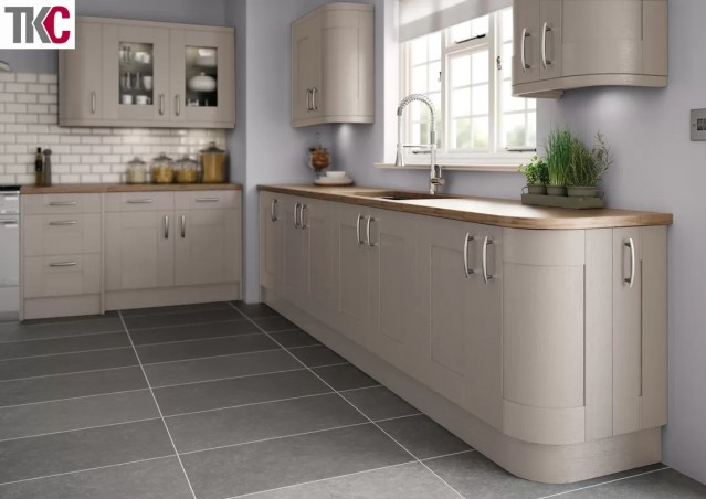 TKC Cartmel Hand Painted Stone Grey Kitchen