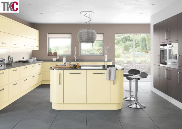 TKC Imola Hand Painted Cream Kitchen