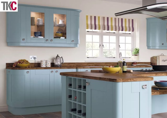 TKC Richmond Hand Painted Denim Kitchen