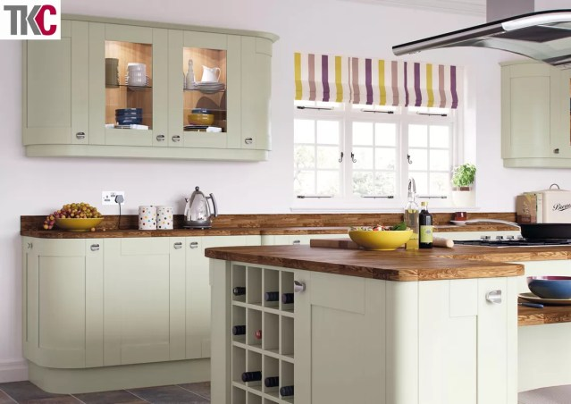 TKC Richmond Hand Painted Sage Green Kitchen