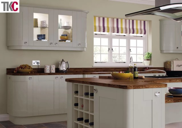 TKC Richmond Hand Painted Silver Grey Kitchen