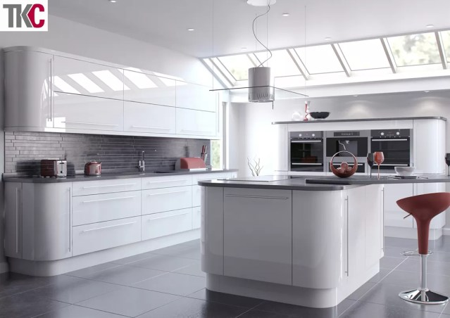 TKC Vivo White Kitchen