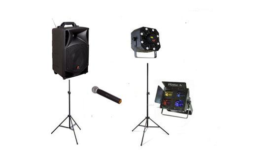 Kit son  et lumière « éco compact » : 115 € ttc