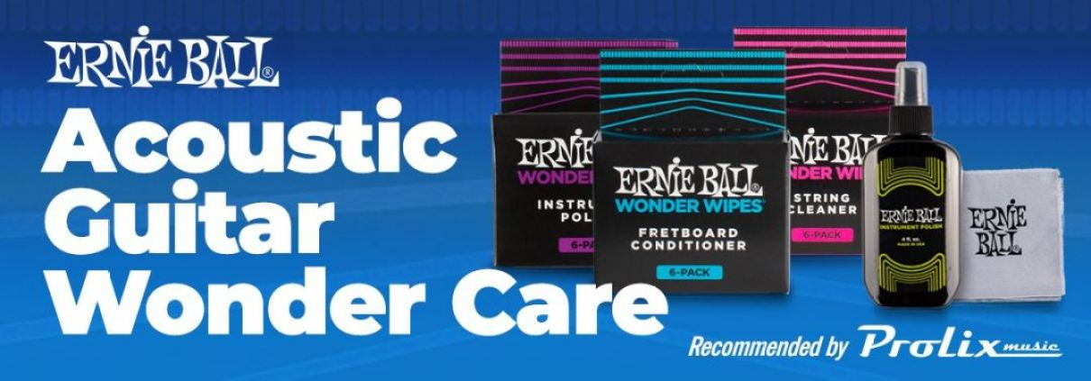 acoustic guitar care recommended by Prolix Music