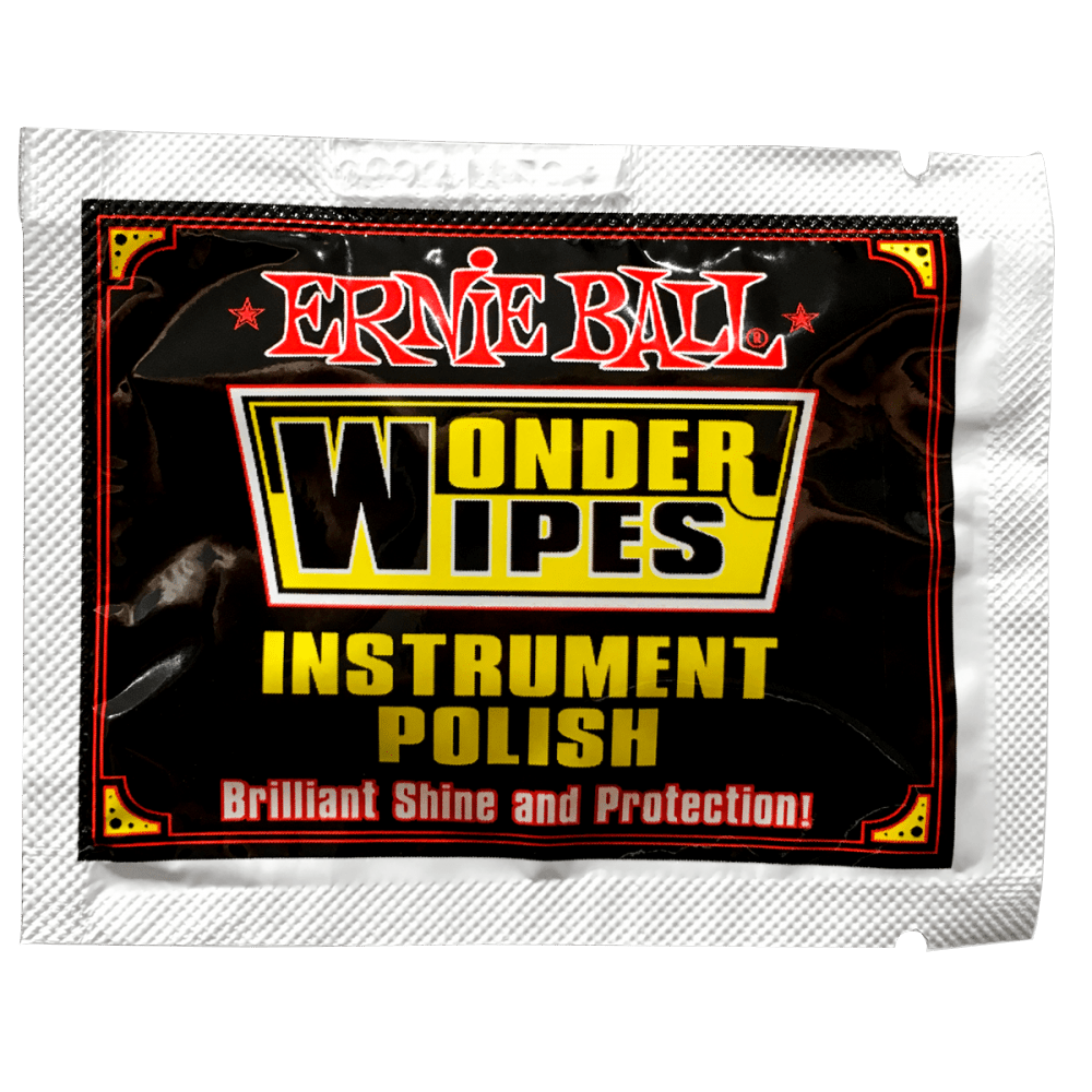 Ernie-Ball-Wonder-Wipes-Instrument-Polish-P04278-Sachet