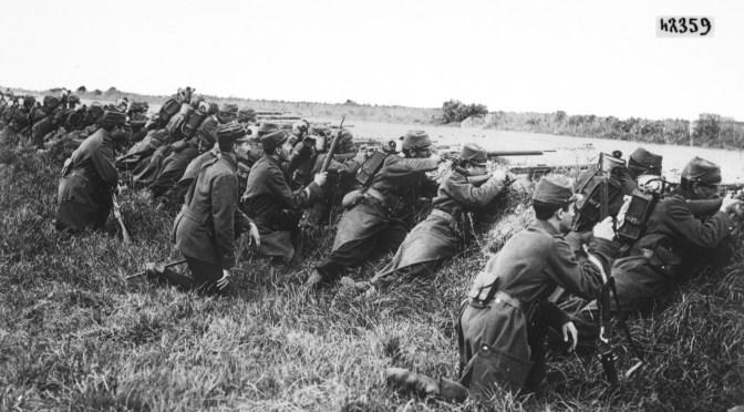 Manifestazione prima guerra mondiale