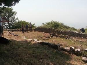 Scavi archeologici Chiesa Normanna su Monte Chiodi