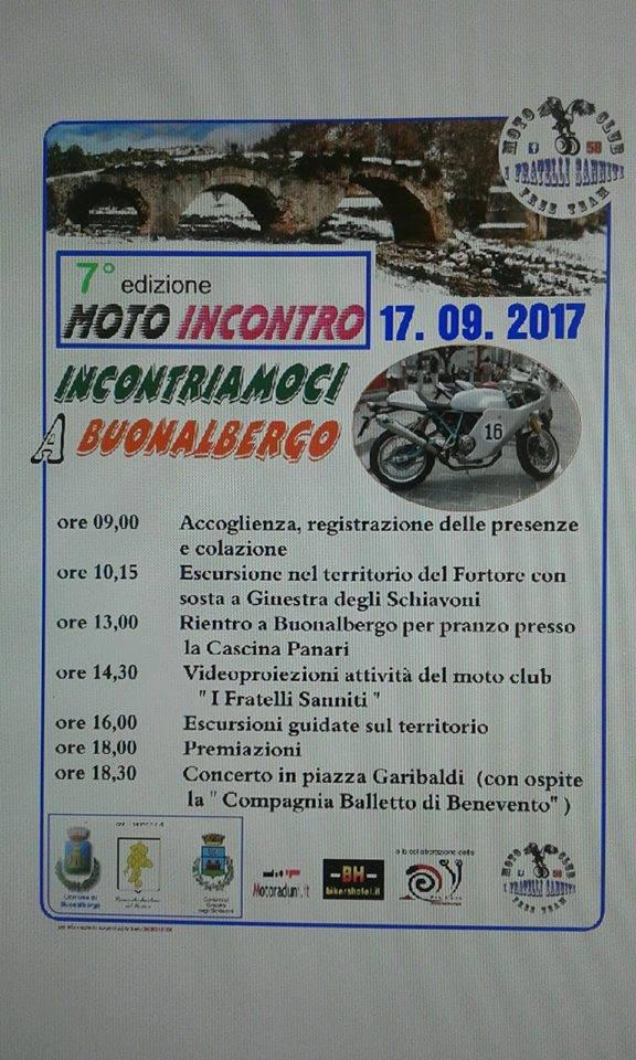 Moto Incontro Buonalbergo