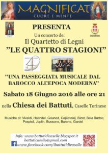 Concerto Battuti sabato 18 giugno