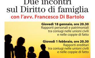 Incontri diritto di famiglia