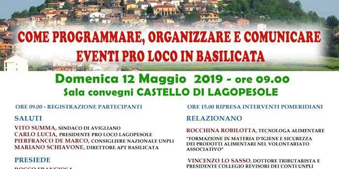 Seminario formativo: come programmare eventi Pro Loco