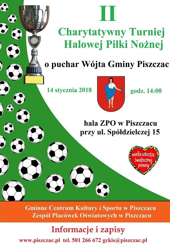 Halowy Turniej Piłkarski w Piszczacu