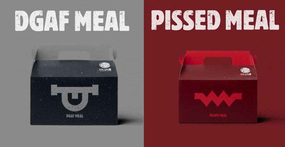 DGAF Meal - Pissed Meal