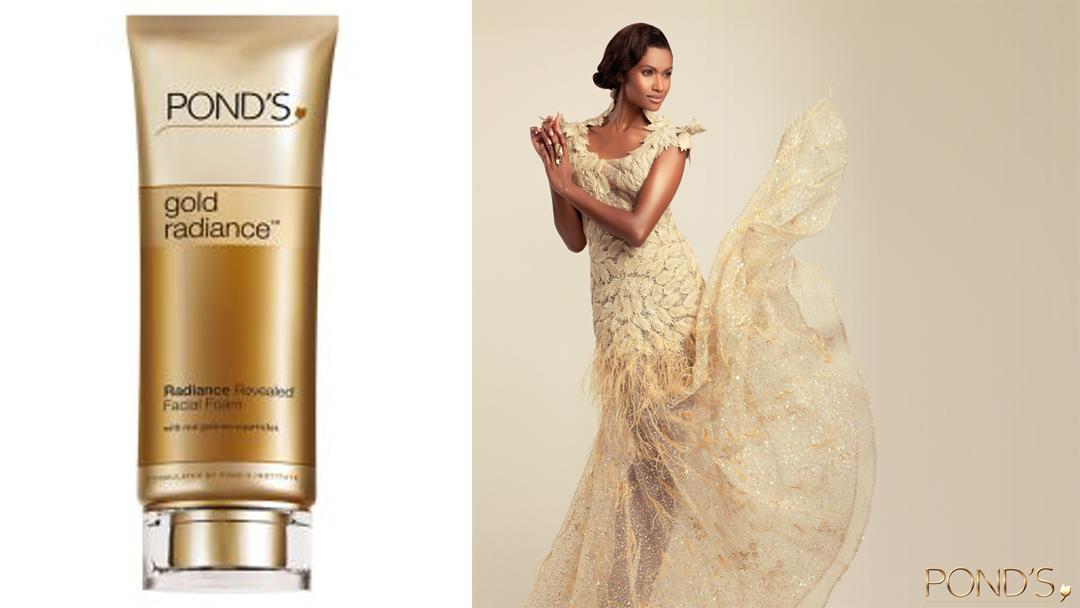 PONDS Gold Radiance Facial Foam