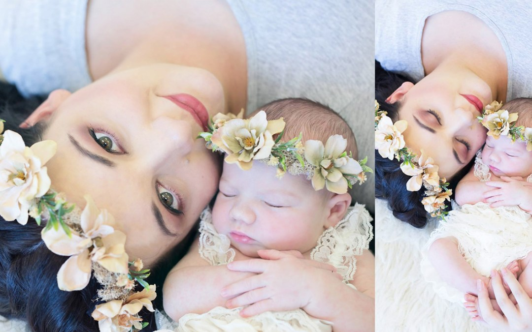 Lauriaan Snyman – Newborn Shoot MakeUp | Hair
