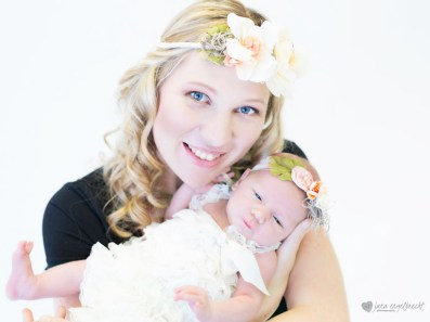 Chanele Newborn Shoot MakeUp Hair