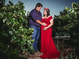 Jalani Maternity Shoot MakeUp Sunset