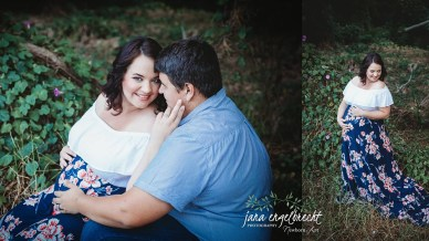 Jalani van Eck Maternity Shoot MakeUp Couple