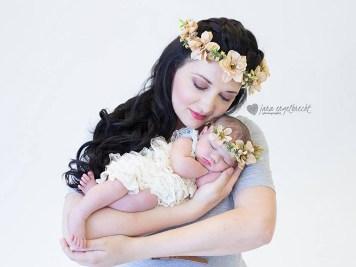 Lauriaan Newborn Shoot MakeUp Hair