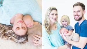 Lisa Fincham Newborn Family Shoot MakeUp Feature