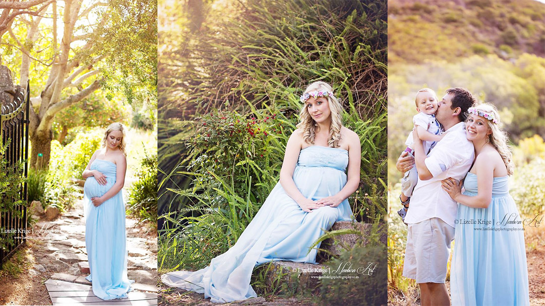 Maggie Maternity Family Shoot MakeUp Feature