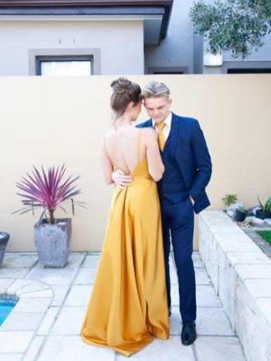 Nina Matric Dance Airbrush MakeUp Couple