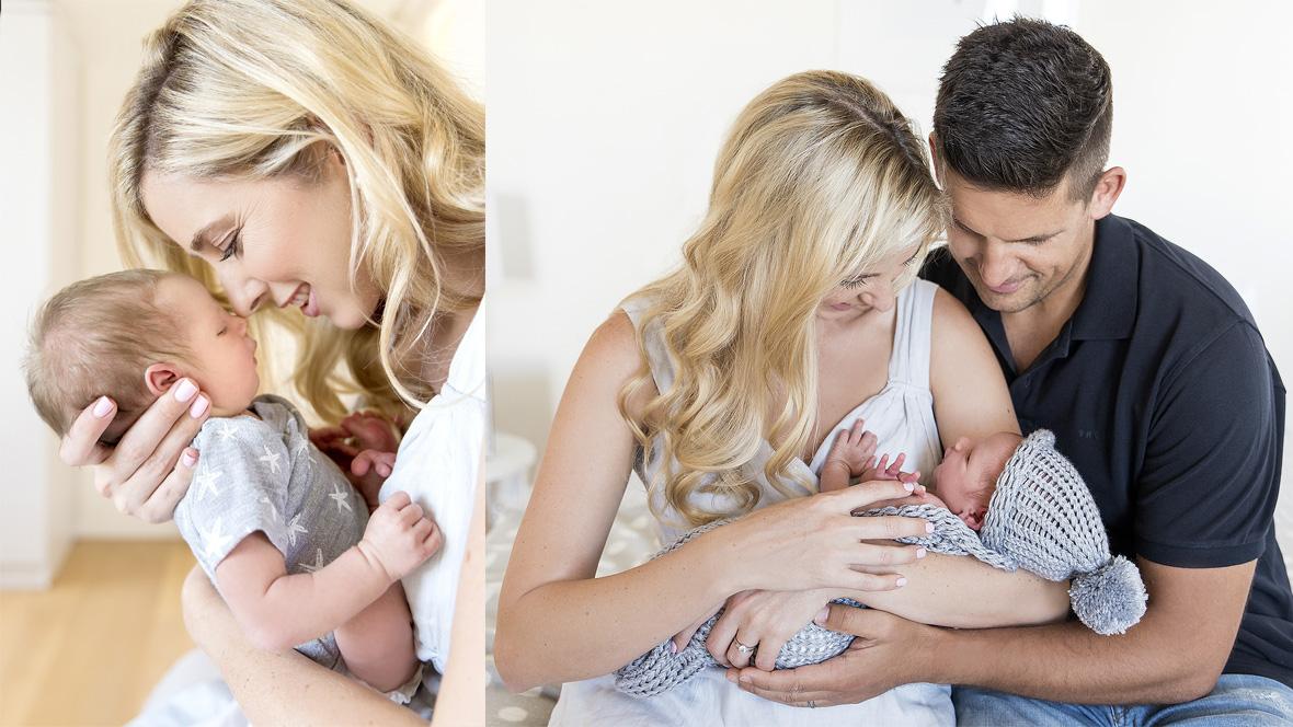 Candice Morrison Newborn Shoot MakeUp Feature
