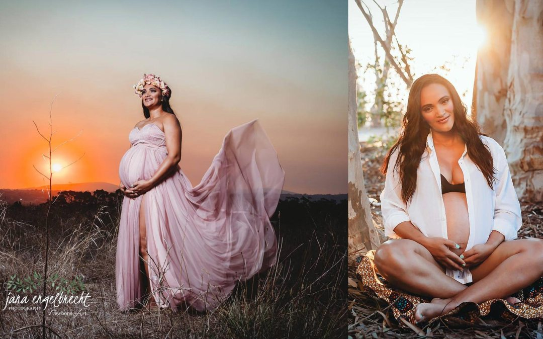 Emmy Philander Maternity Shoot MakeUp